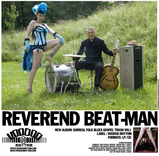 REVEREND BEAT-MAN BLUES TRASH TRIO